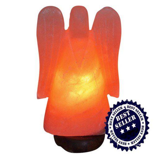 Echte Himalaja Salzlampe Angel XXL ca. 30 cm wieder vorrätig ...
